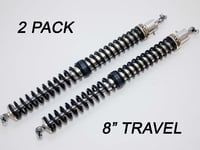 "2.25"" - 8"" Travel (2) Shock & Spring Packages"