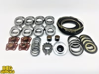 2.5 Ton Steer And Rear Full Rebuild Kit Black Boot