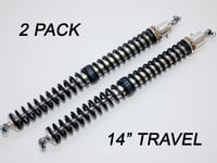 "2.25"" - 14"" Travel (2) Shock & Spring Packages"