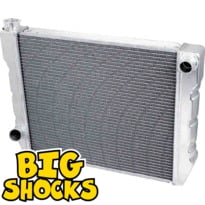 Ford/Chrysler Single Pass Aluminum Tank Radiators