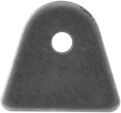 "BSALL60012 Chassis Tab, Flat, 1/4"" Mounting Hole, 1/8"" Thick, 4pk"