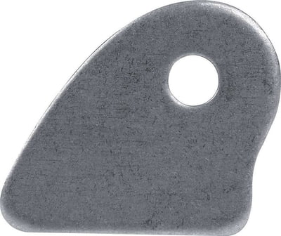 "BSALL60076 Chassis Tab, Flat, 3/8"" Mounting Hole, 1/8"" Thick, 4pk"