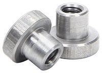 "Allstar Performance Weld-On Nut 1/4""-20 x 5/16"" UHL - 25 Pack"