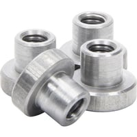 "Allstar Performance Weld-On Nut 1/4""-20 x 5/16"" UHL - 4 Pack"