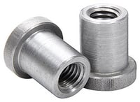 "Allstar Performance Weld-On Nut 1/2""-13 x 7/8"" UHL - 25 Pack"